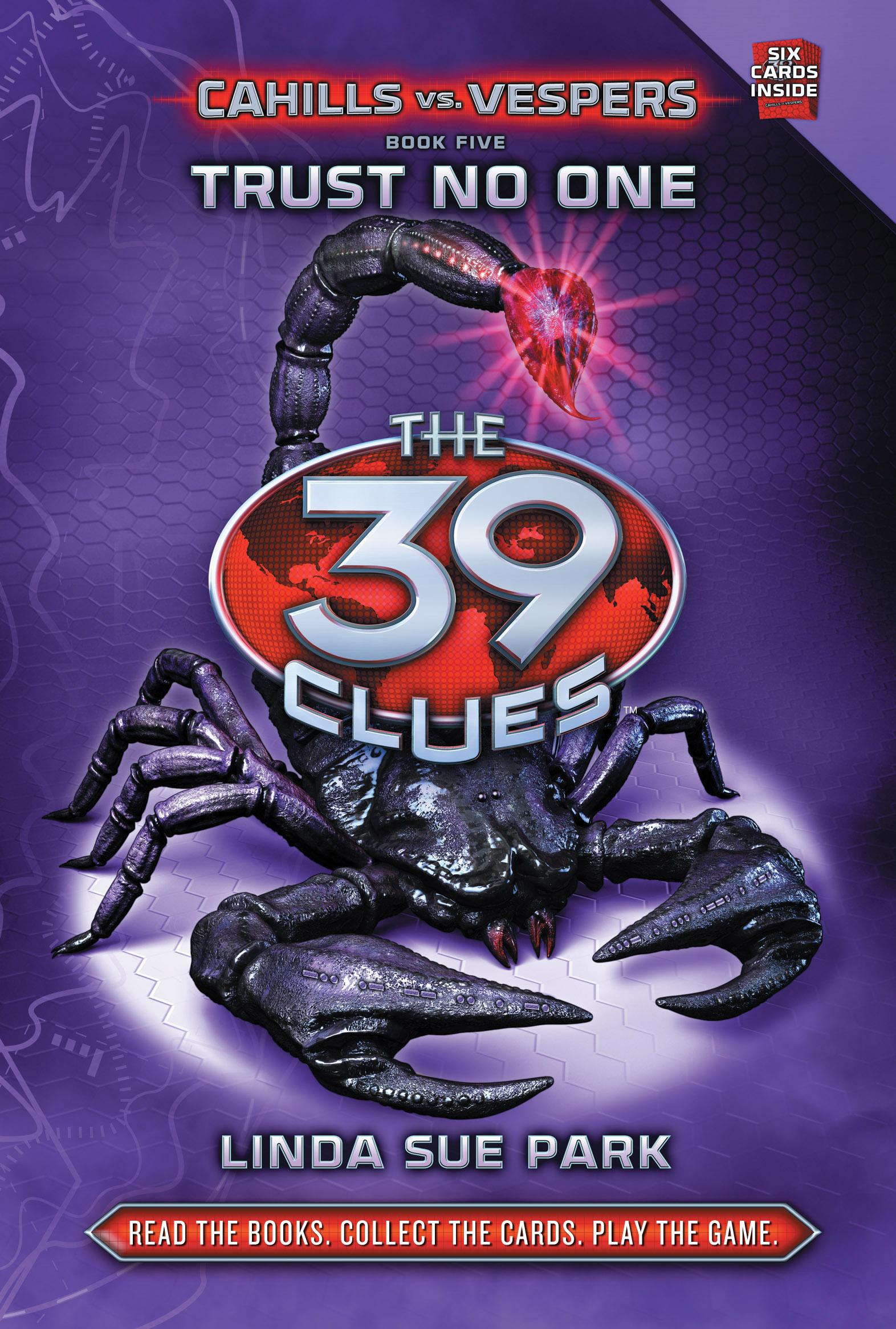 The 39 Clues: Cahills Vs Vespers Book 5: Trust No One Flat Cover