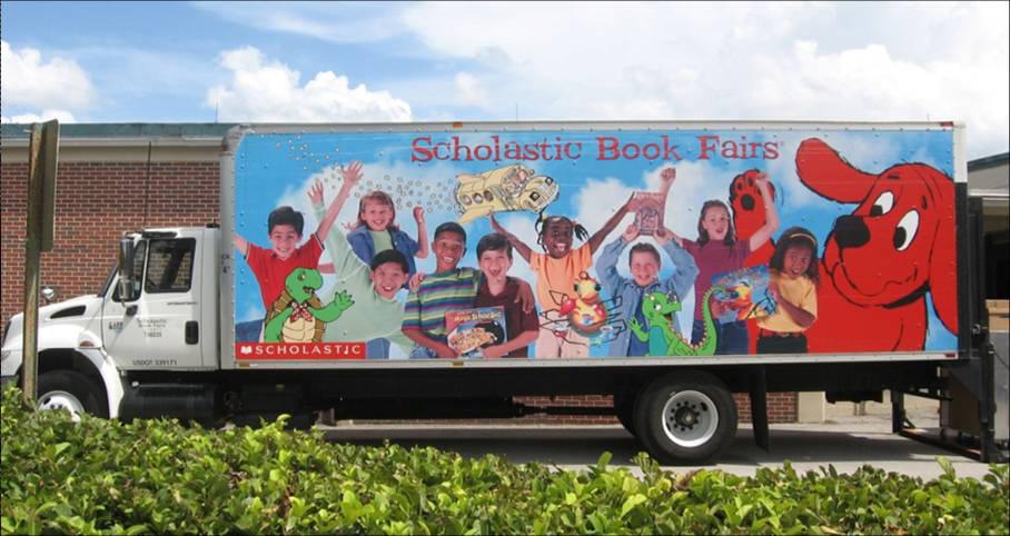Book Fairs Truck