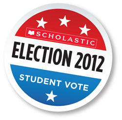 scholastic student vote button