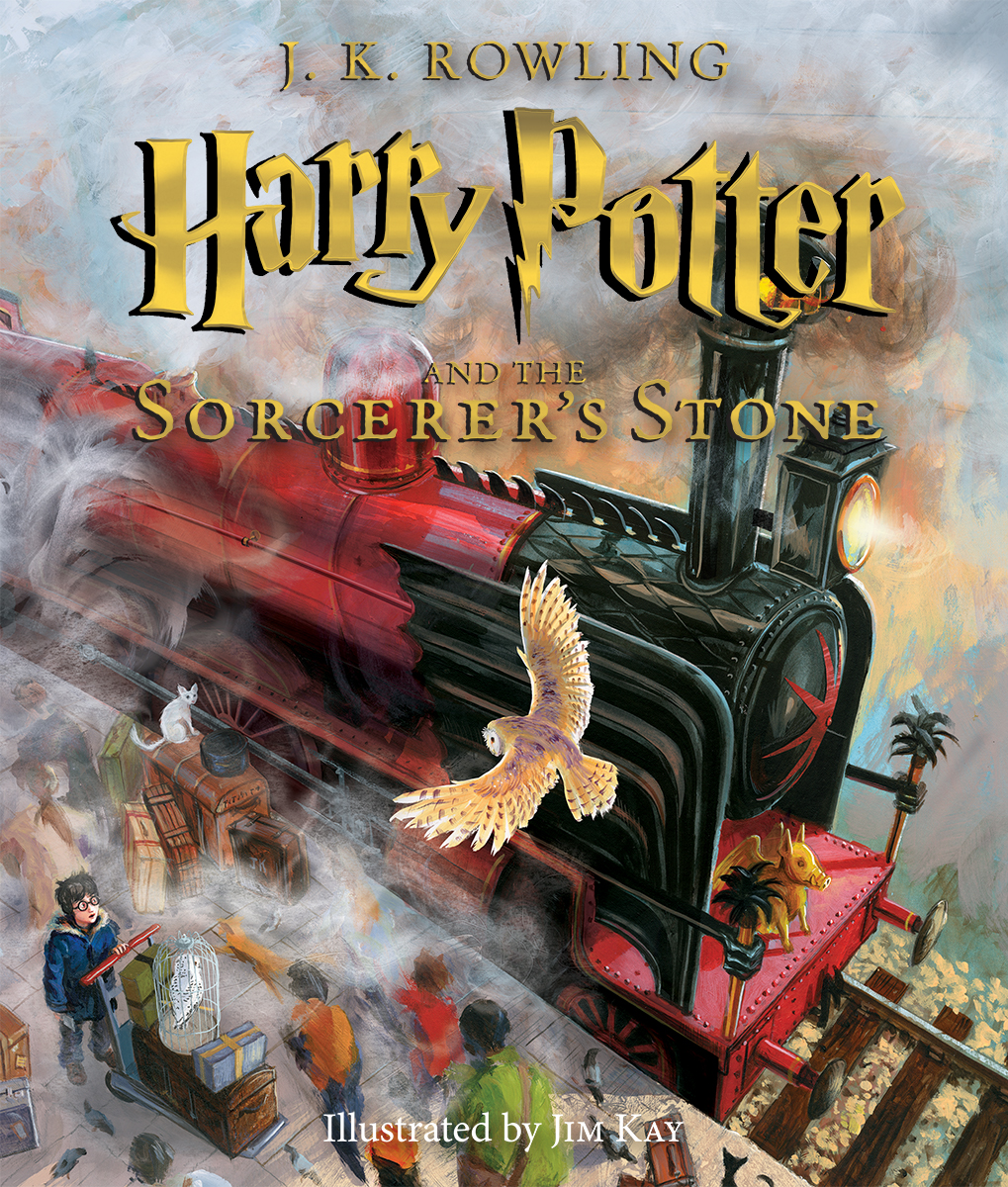 Descargar Libro Harry Potter Y La Piedra Filosofal Harry Potter And The Sorcerer S Stone Illustrated Edition By Jim