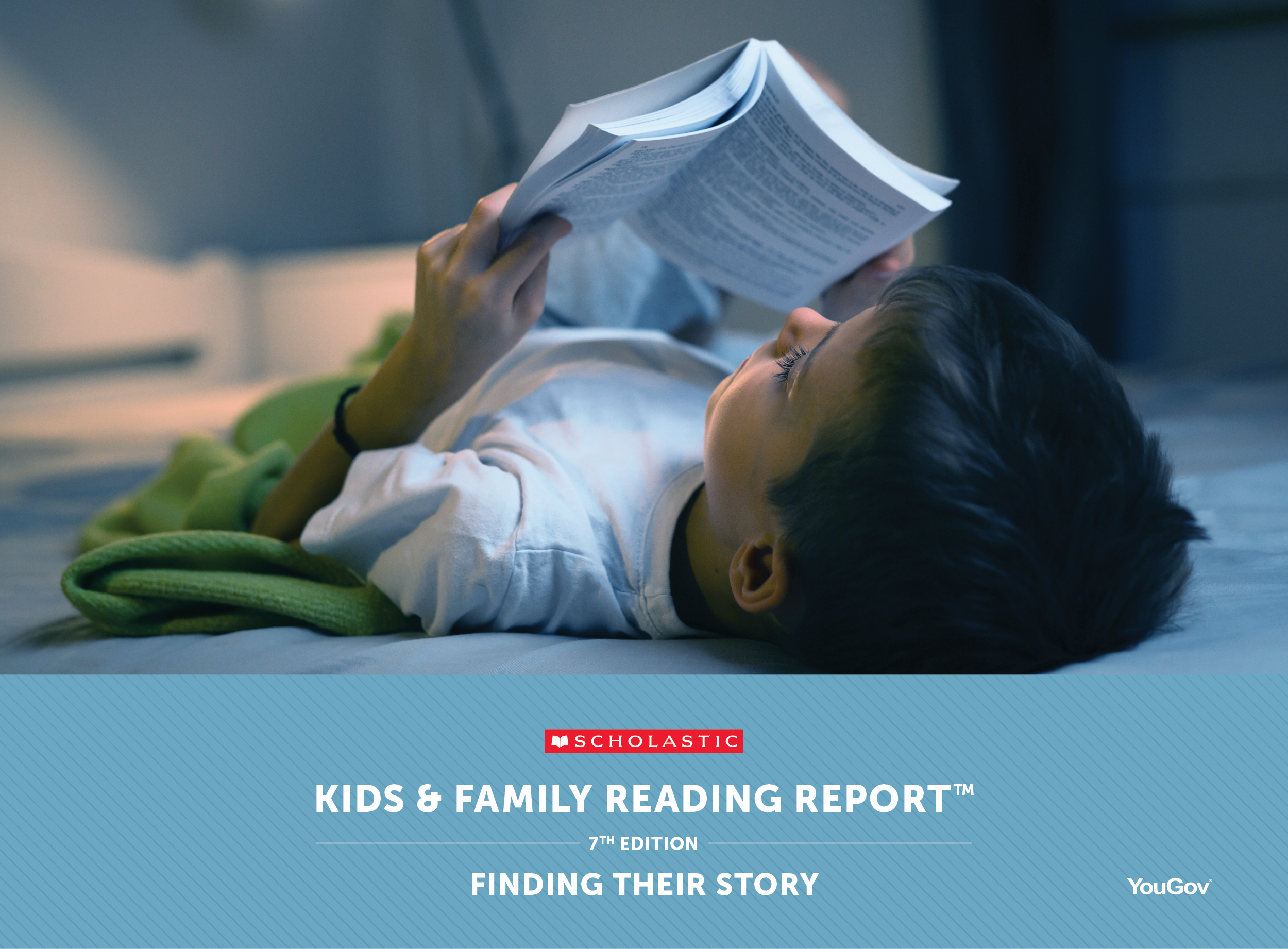 Kids and Family Reading Report Seventh Edition Finding Their Story Cover