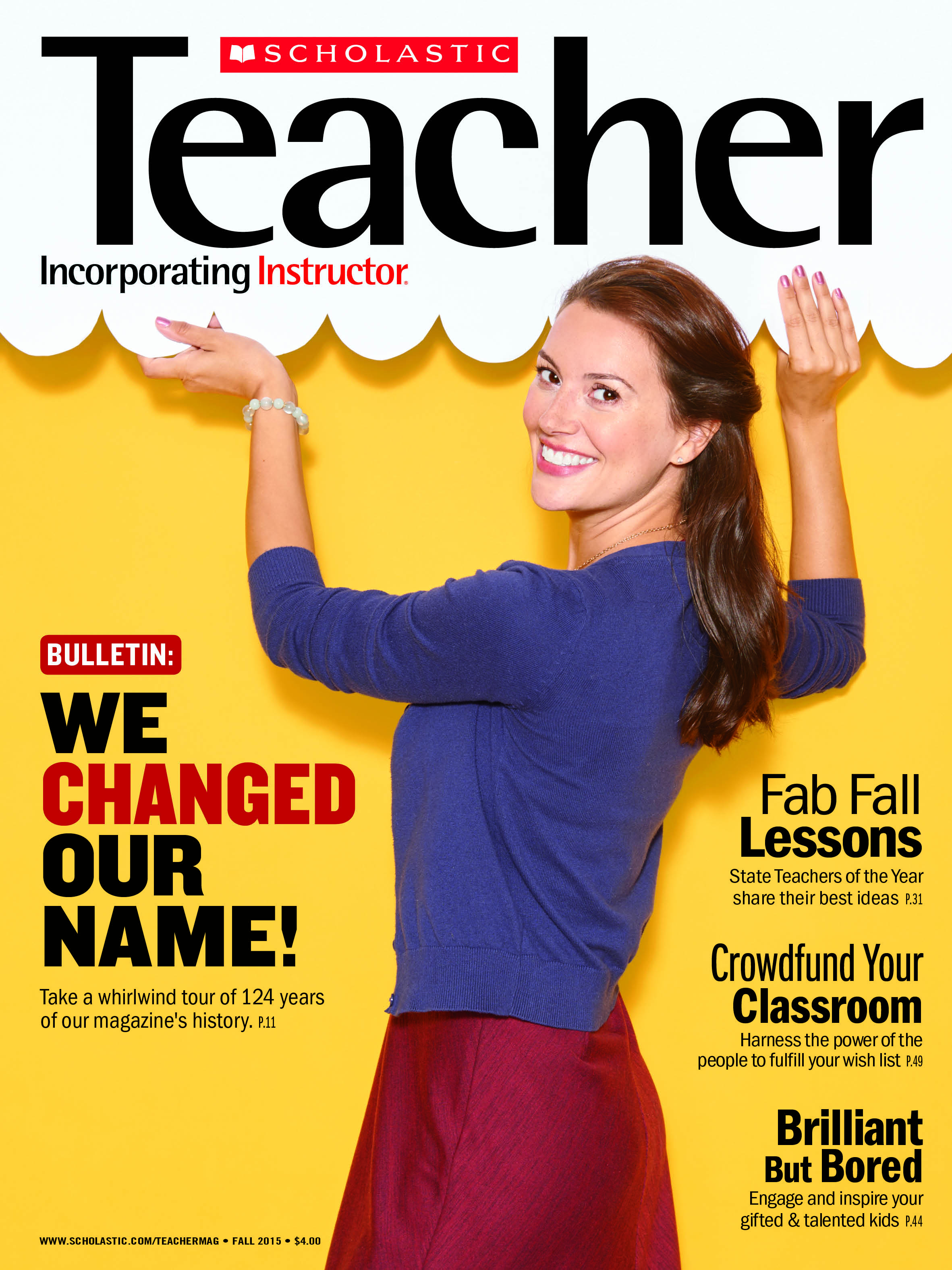 Scholastic Unveils Newly-Branded Magazine for K-8 Teachers ...