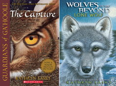 covers of the capture and lone wolf