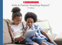 Kids and Family Reading Report Fourth Edition Cover