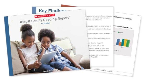 Kids & Family Reading Report Online Press Kit   Scholastic Media Room
