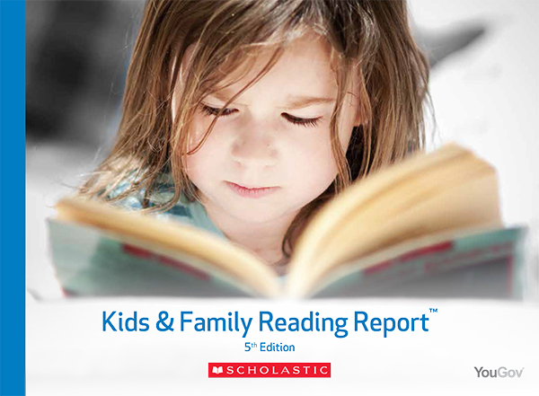 2015 Scholastic Kids & Family Reading Report – Implications for Digital Books