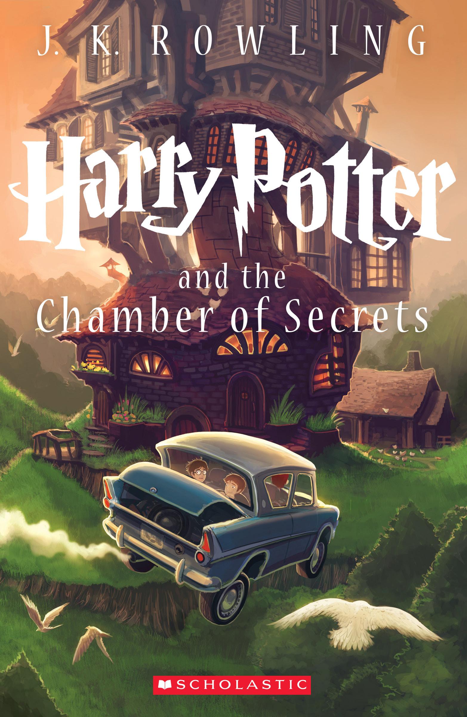 Harry Potter   Scholastic Media Room Harry Potter 2 Book
