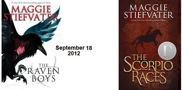 The Scorpio Races and The Raven Boys covers