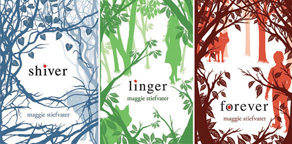 shiver trilogy covers