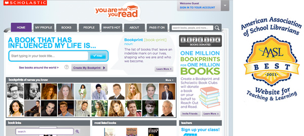You Are What You Read Home Page