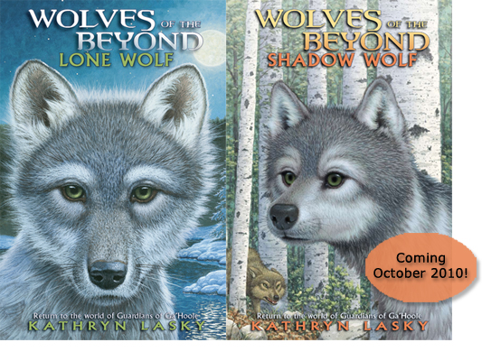 Wolves of the Beyond covers